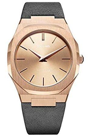 Milano D1 Reloj Analog-Digital para Unisex-Adult de Automatic con Correa en Cloth S0327552