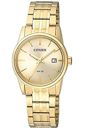Citizen Mujer Relojes - Reloj Analógico para Mujer de Cuarzo con Correa en Acero Inoxidable EU6002-51P