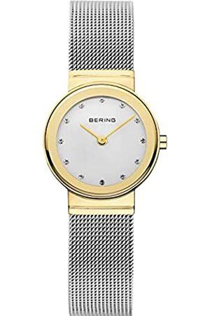 Bering Mujer Relojes - Reloj Analógico Classic Collection para Mujer de Cuarzo con Correa en Acero Inoxidable y Cristal de Zafiro 10126-001