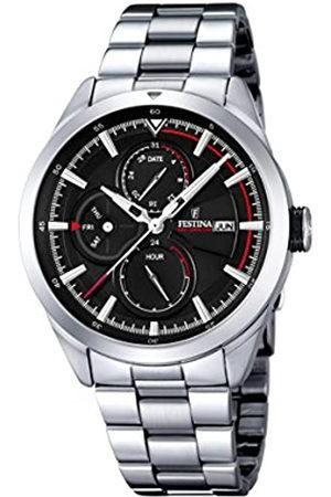 Festina F16828/4 - Reloj de Pulsera Hombre, Acero Inoxidable