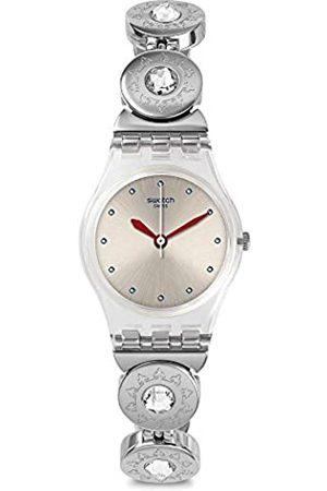 Swatch Reloj Analógico para Mujer de Cuarzo con Correa en Acero Inoxidable LK375G