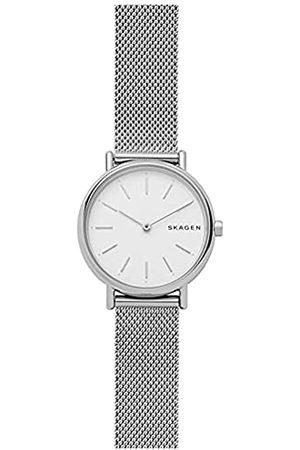 Skagen Mujer Relojes - Reloj Analogico para Mujer de Cuarzo con Correa en Malla de Acero Inoxidable SKW2692