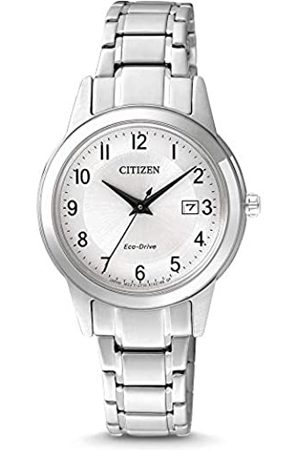 Citizen Reloj Analógico para Mujer de Cuarzo con Correa en Acero Inoxidable FE1081-59B