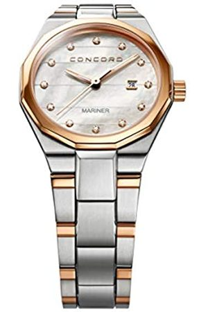 CONCORD RelojAnalogicoparaMujerdeCuarzoconCorreaenAceroInoxidable320277