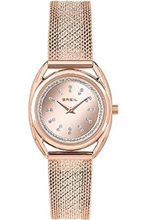 BREIL Mujer Relojes - Reloj colección Petit Charme Esfera Monocolor Solo Movimiento de Tiempo - Malla de Acero de Color y Cuarzo 2H para Mujer
