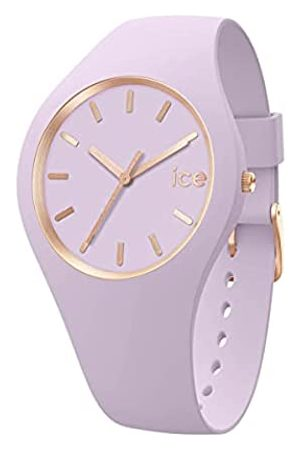 Ice-Watch Mujer Relojes - Ice Glam Brushed Lavender, Reloj para Mujer con Correa de Silicona, 019526