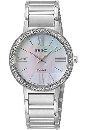 Seiko Reloj Analógico para Mujer de Cuarzo con Correa en Acero Inoxidable SUP431P1