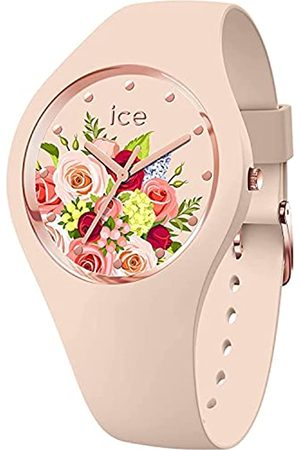 Ice-Watch Mujer Relojes - ICE Flower Pink Bouquet - Reloj para Mujer con Correa de Silicona