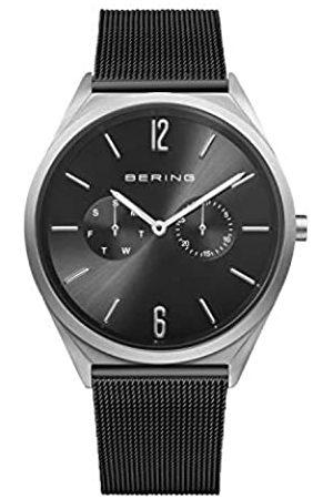 Bering Reloj Analógico Ultra Slim Collection para Unisex de Cuarzo con Correa en Acero Inoxidable y Cristal de Zafiro 17140-102