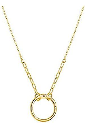 Amor Golden Ring - Cadena con colgante unisex