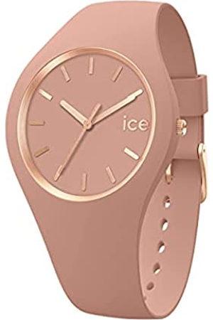 Ice-Watch Ice Glam Brushed Clay, Reloj para Mujer con Correa de Silicona, 019530