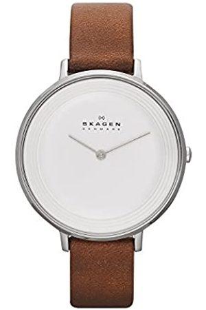 Skagen – Reloj de Pulsera analógico para Mujer Cuarzo Piel SKW2214