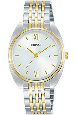 Seiko Mujer Relojes - Pulsar Reloj Analógico para Mujer de Cuarzo con Correa en Metal PH7556X1