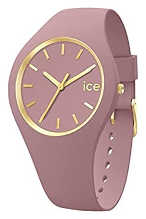 Ice-Watch Mujer Relojes - Ice Glam Brushed Fall Rose, Reloj para Mujer con Correa de Silicona, 019524