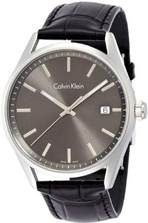 Calvin Klein Reloj Analógico para Hombre de Cuarzo con Correa en Cuero K4M211C3