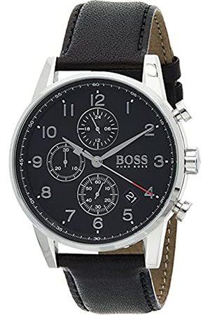 HUGO BOSS Reloj Cronógrafo para Hombre de Cuarzo con Correa en Cuero 1513678