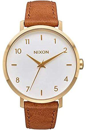 Nixon Reloj Analógico para Mujer de Cuarzo con Correa en Cuero A1091-2621-00