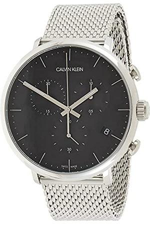 Calvin Klein Reloj Cronógrafo para Unisex Adultos de Cuarzo con Correa en Acero Inoxidable K8M27121