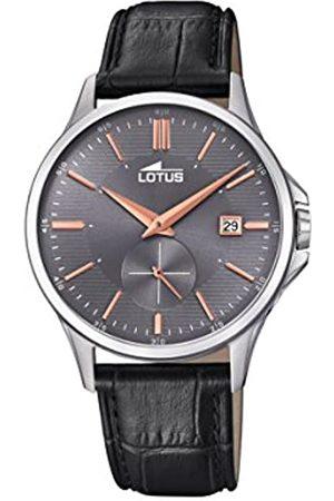 Lotus Reloj Análogo clásico para Hombre de Cuarzo con Correa en Cuero 18424/3