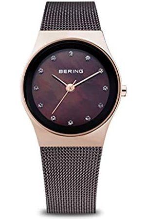 Bering Reloj Analógico Classic Collection para Mujer de Cuarzo con Correa en Acero Inoxidable y Cristal de Zafiro 12927-262