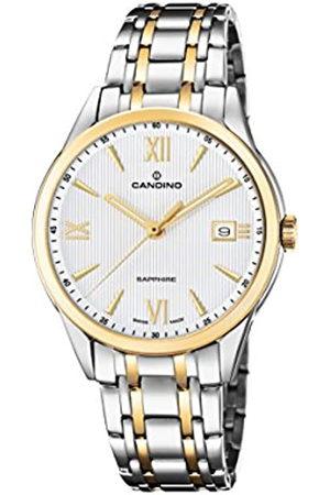 Candino Reloj Análogo clásico para Hombre de Cuarzo con Correa en Acero Inoxidable C4694/1