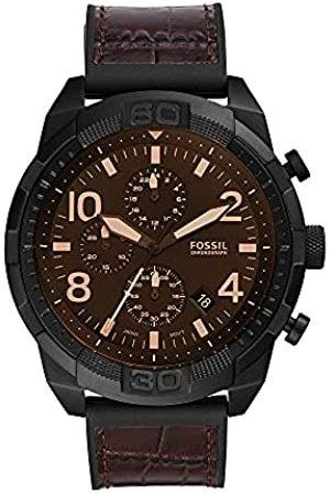 Fossil Reloj Bronson de de acero inoxidable en tono con cronógrafo para hombre