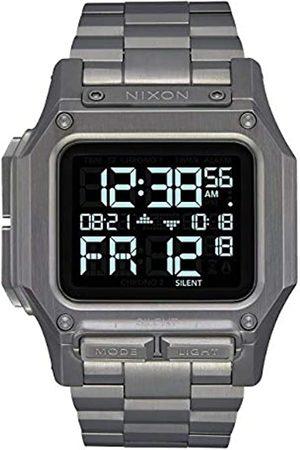 Nixon Reloj Digital para de los Hombres de Automático Chino con Correa en Acero Inoxidable A1268-131-00