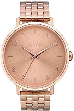 Nixon Reloj Analógico para Mujer de Cuarzo con Correa en Acero Inoxidable A1090-897-00