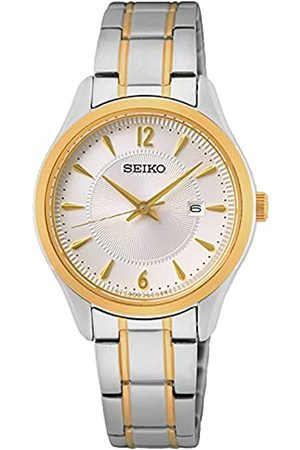 Seiko Reloj Analógico para Mujer de Cuarzo con Correa en Metal SUR474P1
