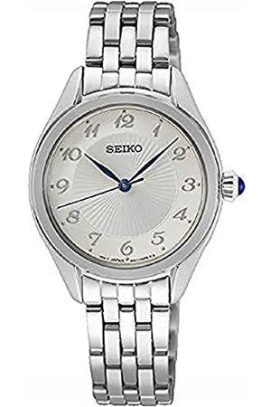 Seiko Reloj Analógico para Mujer de Cuarzo con Correa en Metal SUR379P1