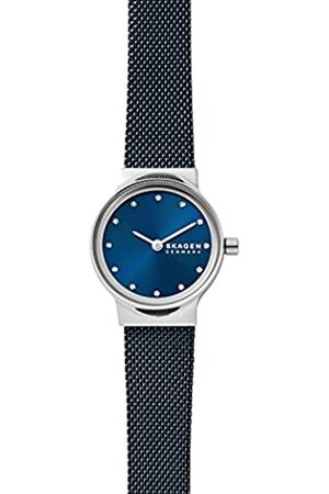 Skagen Reloj Freja para mujer, de , con al menos un 50 % de acero inoxidable reciclado y con dos agujas