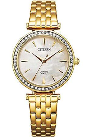 Citizen Reloj Análogo para Señoras de Cuarzo con Correa en Acero Inoxidable ER0212-50Y