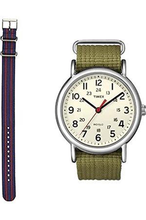 Timex CorreadeRelojTW7C03300+RelojanálogicodeCuarzoT2N651