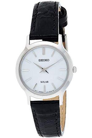 Seiko Reloj Analógico para Mujer de Cuarzo con Correa en Cuero SUP299P1