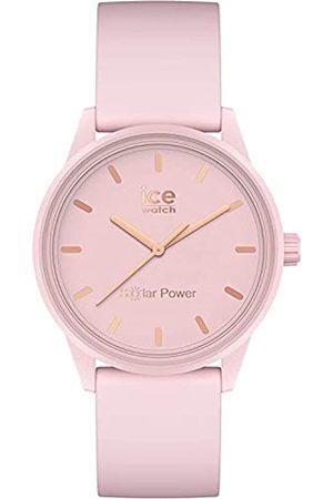ICE-WATCH Mujer Relojes - ICE Solar Power Pink Lady - Reloj para Mujer con Correa de Silicona