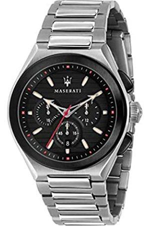Maserati Reloj para Hombre, Colección TRICONIC, en Acero