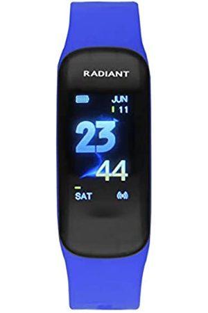 Radiant Pulsera de Actividad de . Colección Central Park. Pulsera de Actividad Negra con Correa de Silicona. IP67. 20mm. ReferenciaRAS30102.