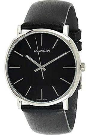 Calvin Klein Reloj Analógico para Hombre de Cuarzo con Correa en Cuero K8Q311C1