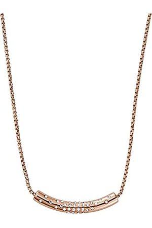 Skagen Collar de cadena para mujer, de acero inoxidable en tono oro rosa