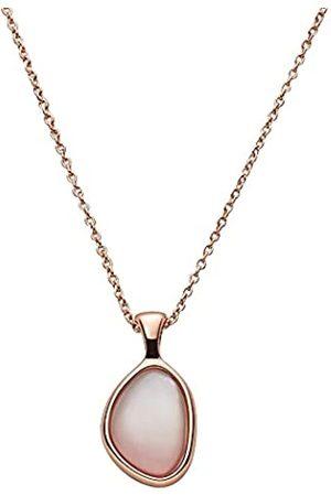 Skagen Collar con colgante para mujer, de , de acero inoxidable en tono oro