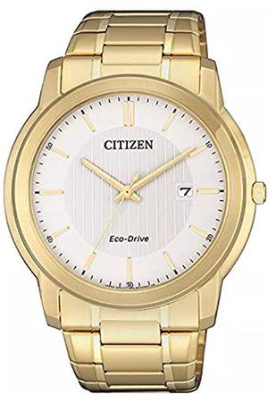 Citizen Reloj Analógico para Hombre de Cuarzo con Correa en Acero Inoxidable AW1212-87A