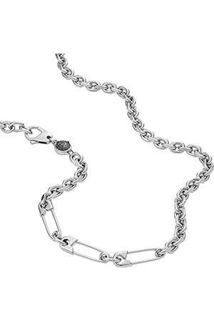 Diesel Necklaces Stainless Steel No Gemstones mens, Height: 26.4mm, Length: 60cm + 5cm