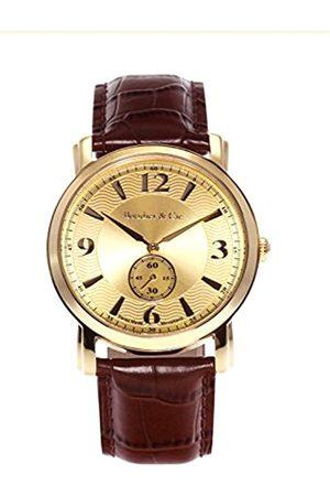 Boudier & Cie Reloj analogico para Hombre de Cuarzo con Correa en Piel BS-SM-203