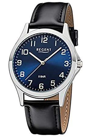 Regent Reloj Analógico para Hombre de con Correa en imitación de Cuero 11110755