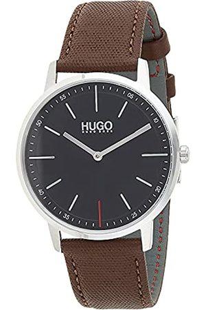 HUGO BOSS Reloj Analógico de Cuarzo con Correa en Cuero 1520014