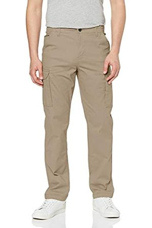 MERAKI Marca Amazon - Pantalones Cargo Rectos Hombre, (Sand), 33W / 34L