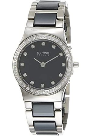 Bering Reloj Analógico Ceramic Collection para Mujer de Cuarzo con Correa en Acero Inoxidable/Cerámica y Cristal de Zafiro 32426-707