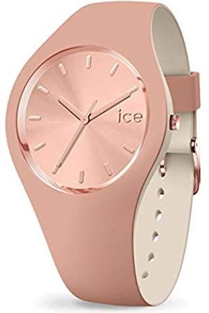 Ice-Watch ICE Duo Chic Blush - Reloj Marrón para Mujer con Correa de Silicona