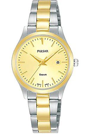 Seiko Mujer Relojes - Pulsar Reloj Analógico para Mujer de Cuarzo con Correa en Metal PH7544X1