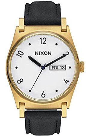 Nixon Reloj Analógico para Mujer de Cuarzo con Correa en Cuero A955-513-00
